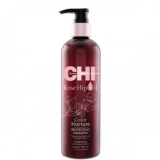 CHI Rose Hip Oil Protecting Shampoo 340ml