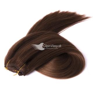 Hnedé ľudské clip in vlasy