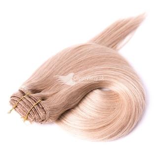Blond ľudské clip in vlasy